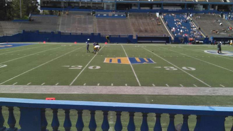 Seating view for CEFCU STADIUM Section 132 Row 6 Seat 12