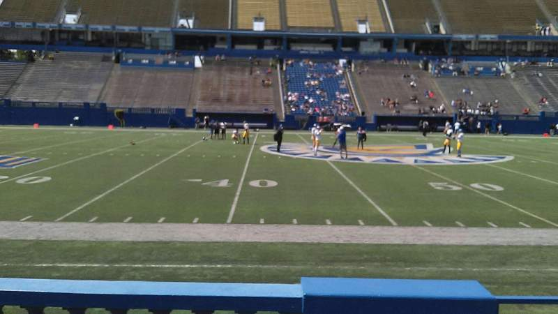 Seating view for CEFCU STADIUM Section 131 Row 5 Seat 4