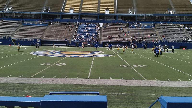 Seating view for CEFCU STADIUM Section 130 Row 5 Seat 1