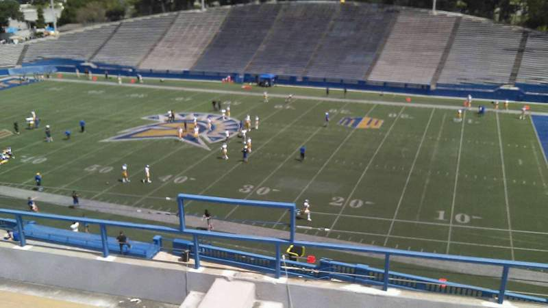 Seating view for CEFCU STADIUM Section 202 Row 7 Seat 9