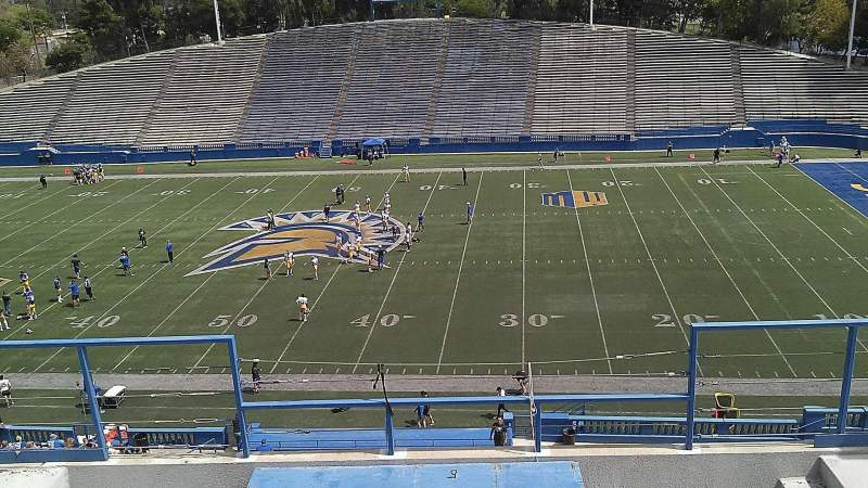 Seating view for CEFCU STADIUM Section 204 Row 8 Seat 7