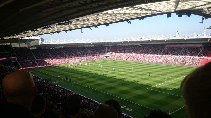 Seating view for Riverside stadium Section 68 Row 40 Seat 83