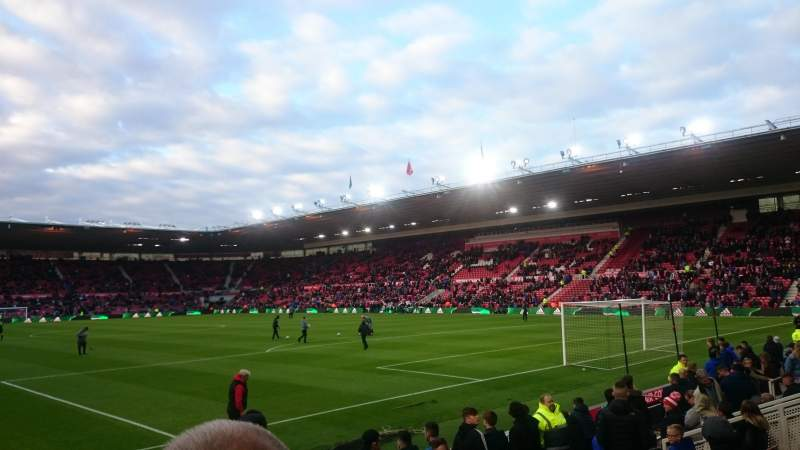 Seating view for Riverside Stadium Section Block 63 Row 7 Seat 149
