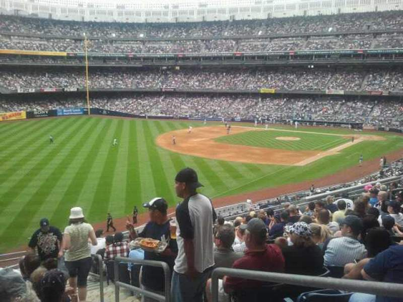 Seating view for Yankee Stadium Section 231 Row 13 Seat 2