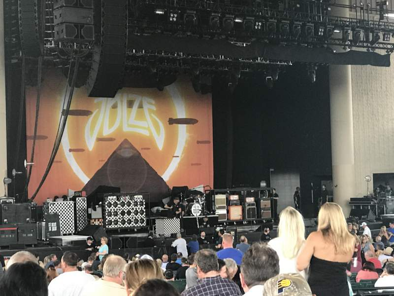 Seating view for Ruoff Home Mortgage Music Center Section D Row K Seat 2