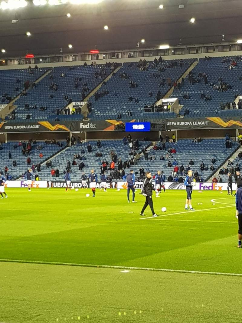 Seating view for Ibrox Stadium  Section Se2 Row H