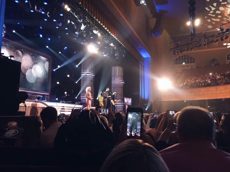 Seating view for Ryman Auditorium Section 8 Row M Seat 2