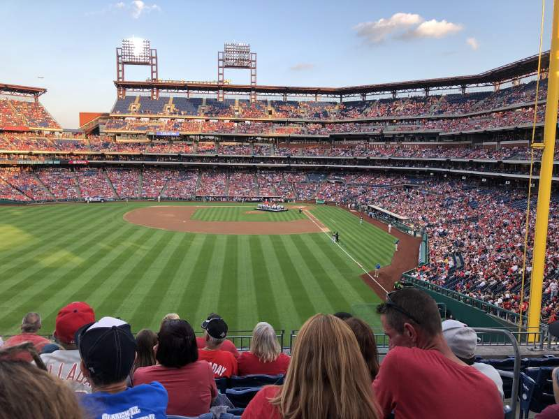 Seating view for Citizens Bank Park Section 242 Row 7 Seat 3