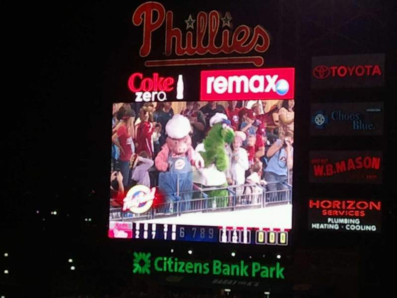 Seating view for Citizens Bank Park Section 307 Row 20 Seat 4