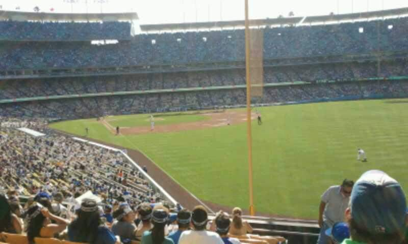 Seating view for Dodger Stadium Section 166LG Row L Seat 1