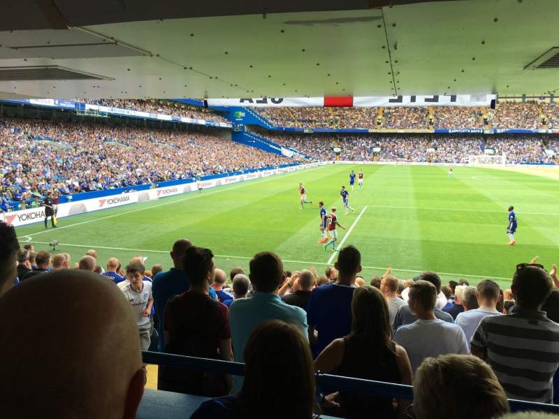 Seating view for Stamford Bridge Section SL5 Row 15 Seat 145