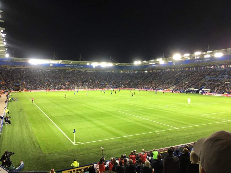Seating view for King Power Stadium Section 5