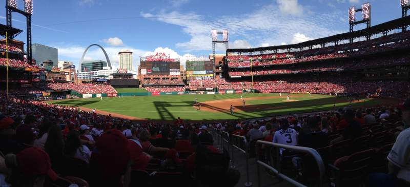 Seating view for Busch Stadium Section 159 Row 16 Seat 3