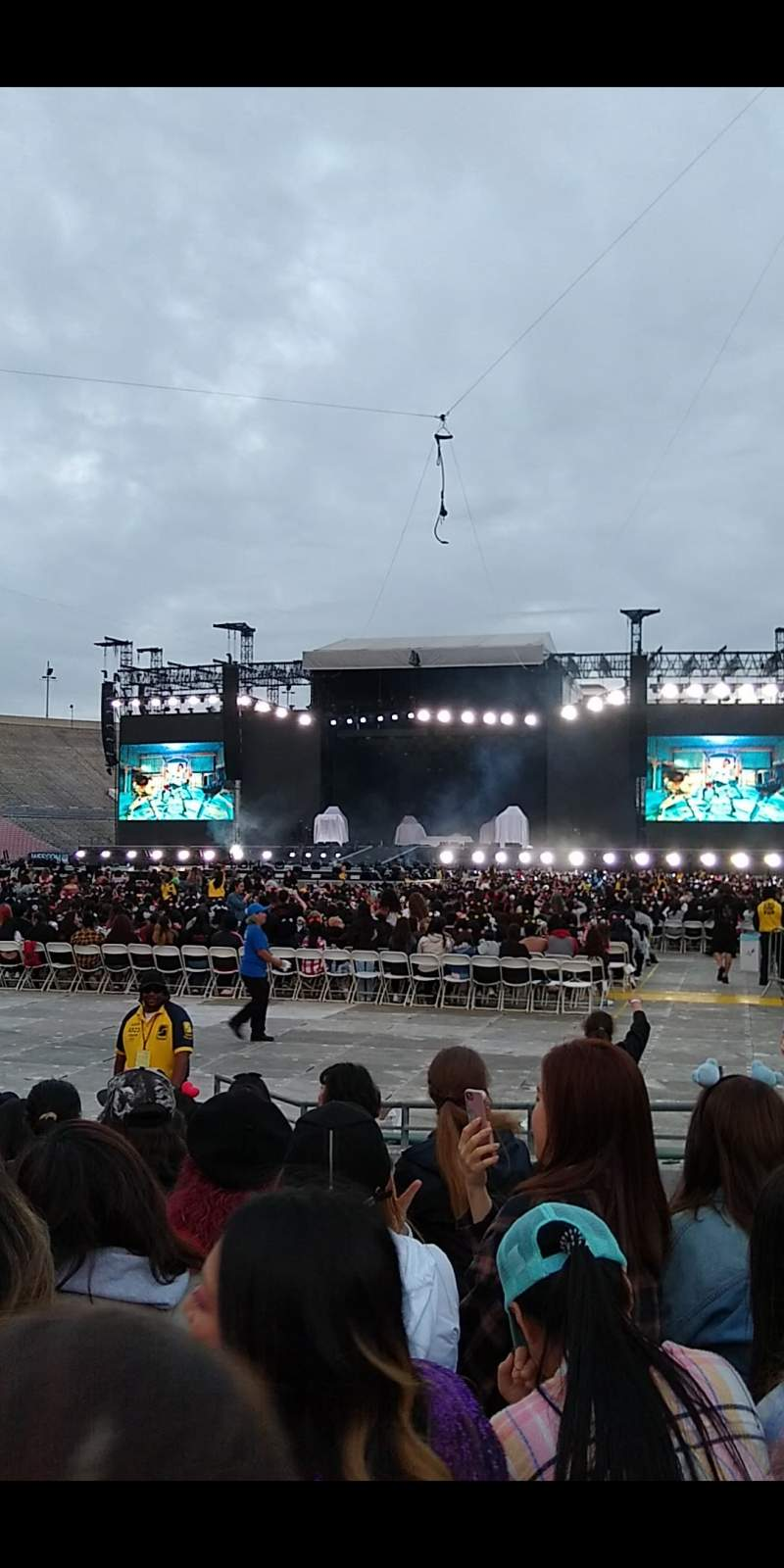 Seating view for Rose Bowl Section 14-L Row B Seat 8