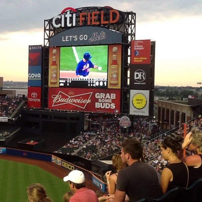 Seating view for Citi Field Section 502 Row j Seat 3