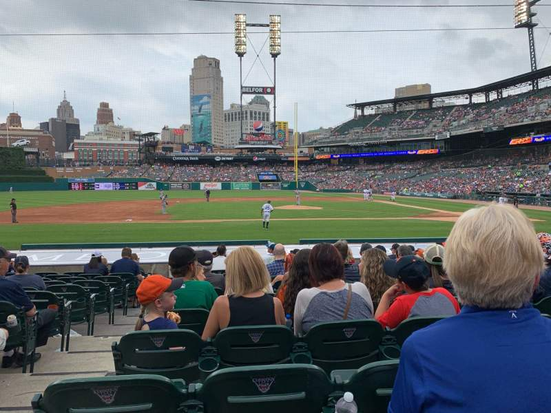 Seating view for Comerica Park Section 333 Row 18 Seat 15