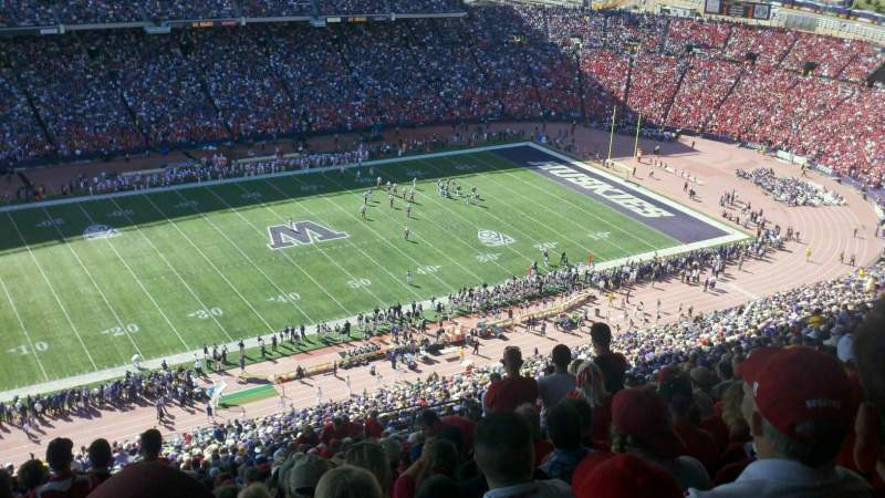 Seating view for Old Husky Stadium