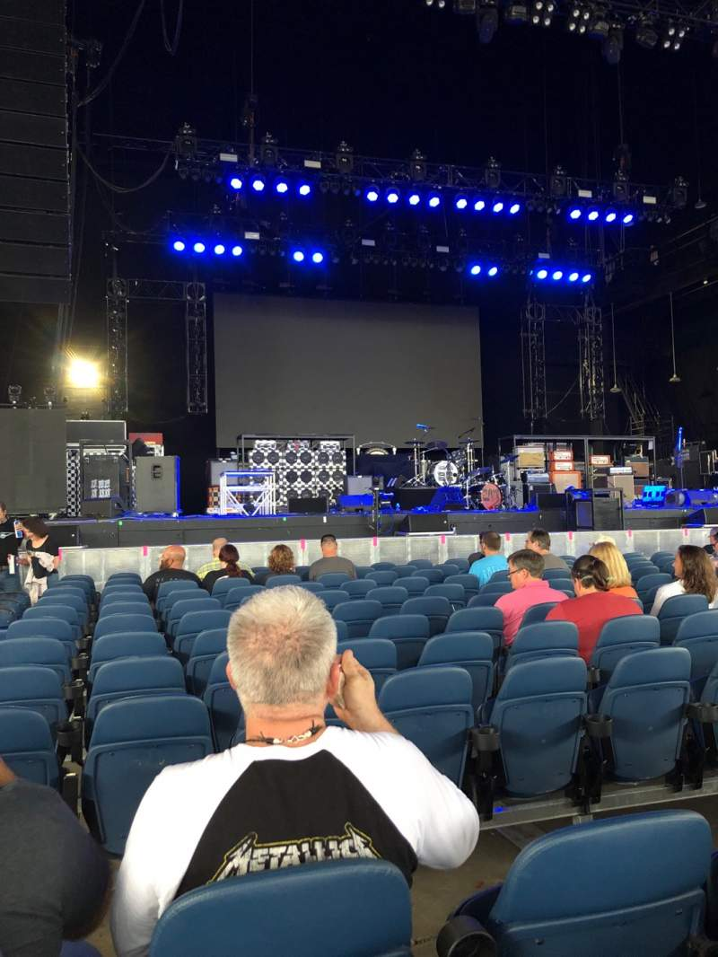 Seating view for PNC Music Pavilion Section 2 Row L Seat 31-32