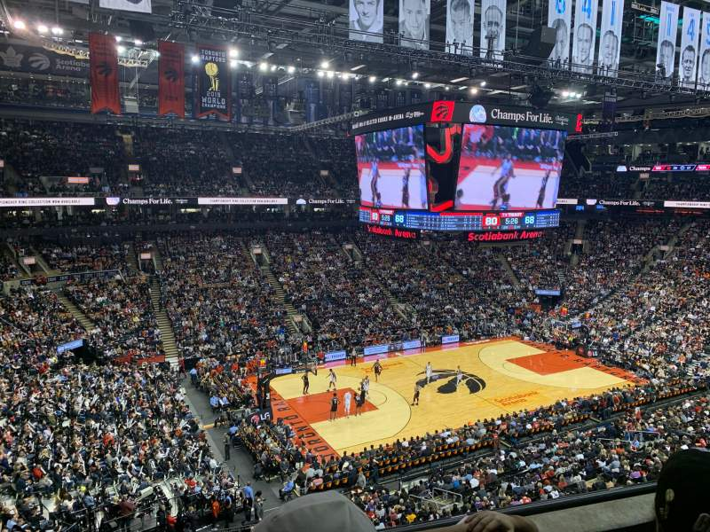Seating view for Scotiabank Arena Section 311 Row 3 Seat 17