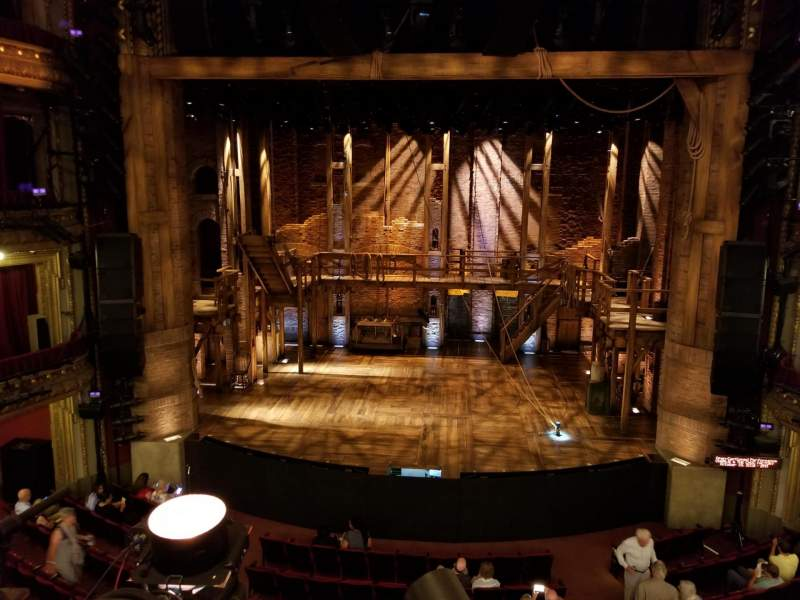 Seating view for CIBC Theatre Section Mezzanine RC Row A Seat 302