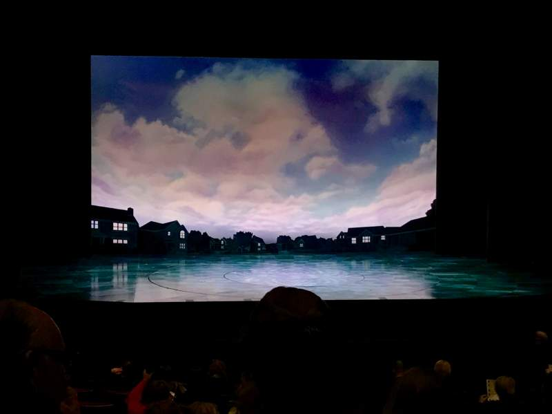 Seating view for La Jolla PlayhouseRow O Seat 25