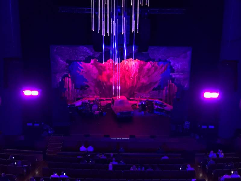 Seating view for Winspear Opera House Section Dress Circle Row C Seat 27