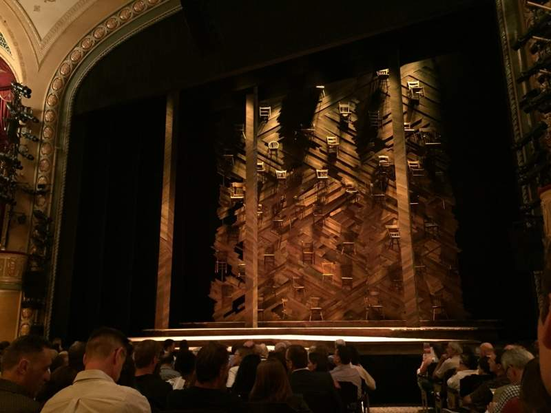 Seating view for Bernard B. Jacobs Theatre