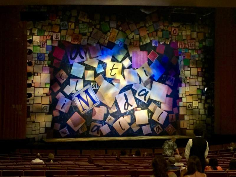 Seating view for Ahmanson Theatre Section Orchestra Row Y Seat 48