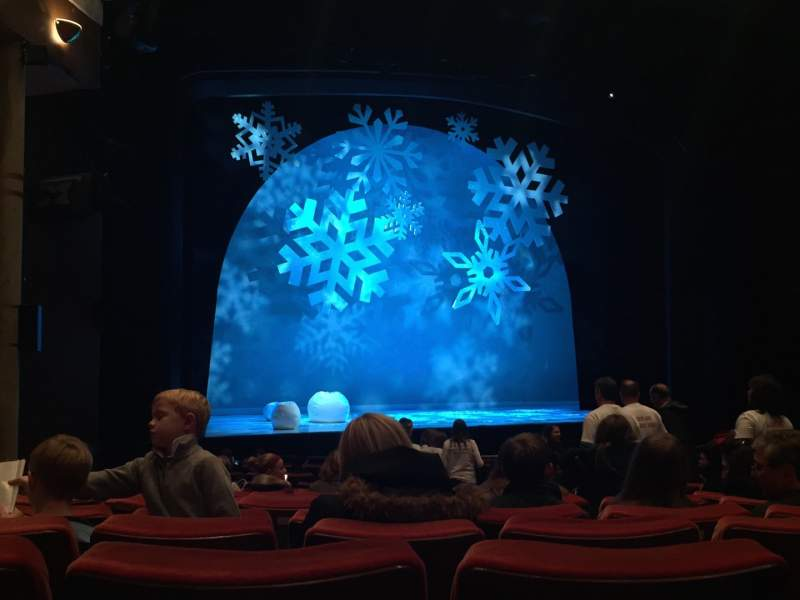 Seating view for Paper Mill Playhouse