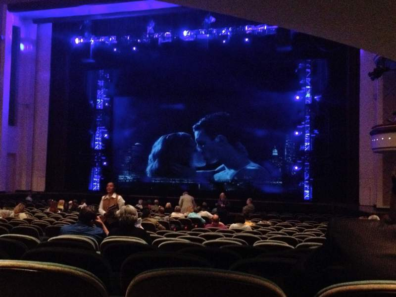Seating view for Belk Theater