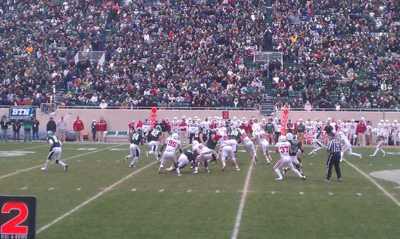 Seating view for Spartan Stadium Section 24 Row 4 Seat 15