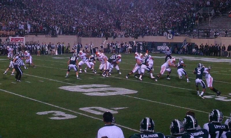 Seating view for Spartan Stadium Section 23 Row 4 Seat 15