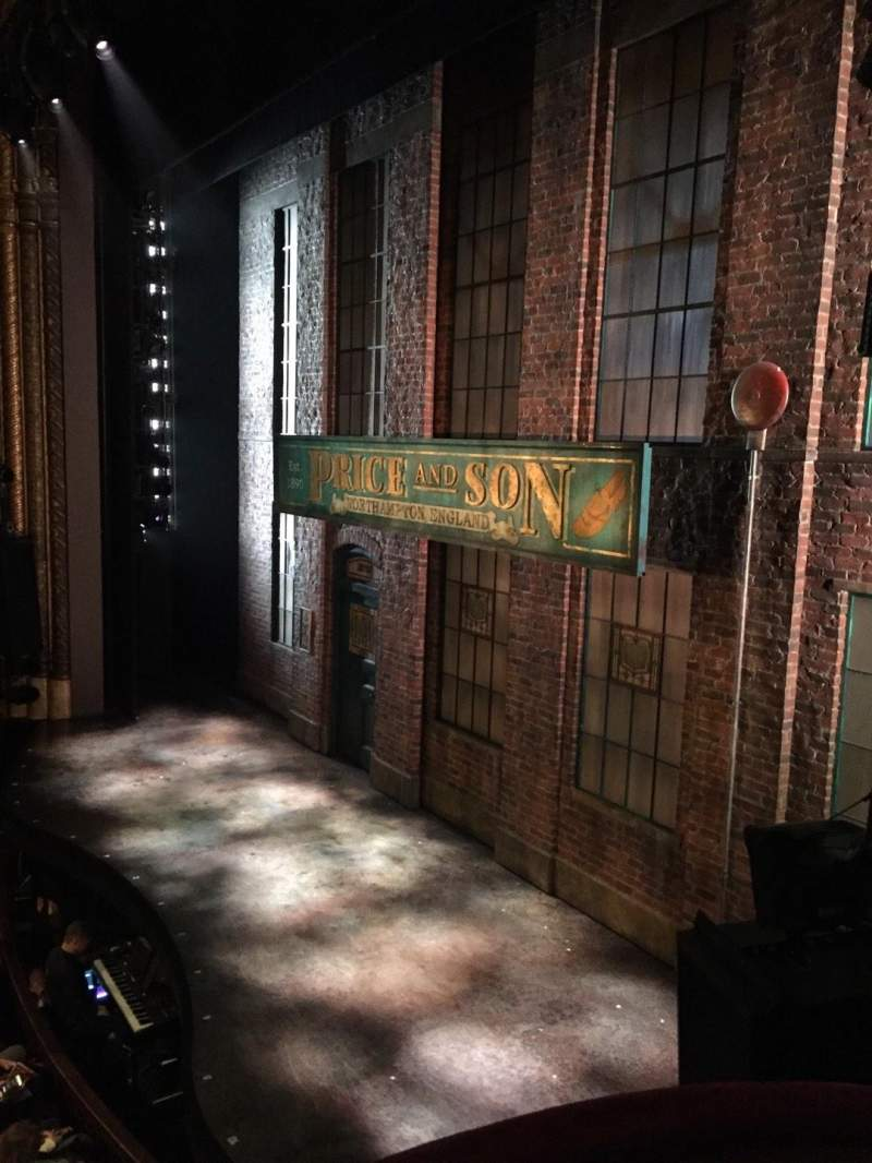 Seating view for Al Hirschfeld Theatre Section Right box Row C Seat 8