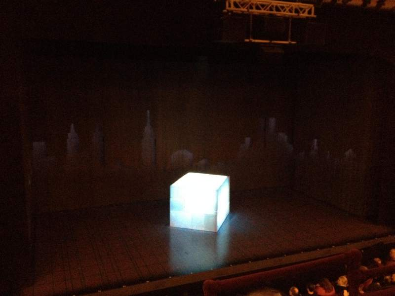 Seating view for Walter Kerr Theatre Section Mezzanine L Row C Seat 3