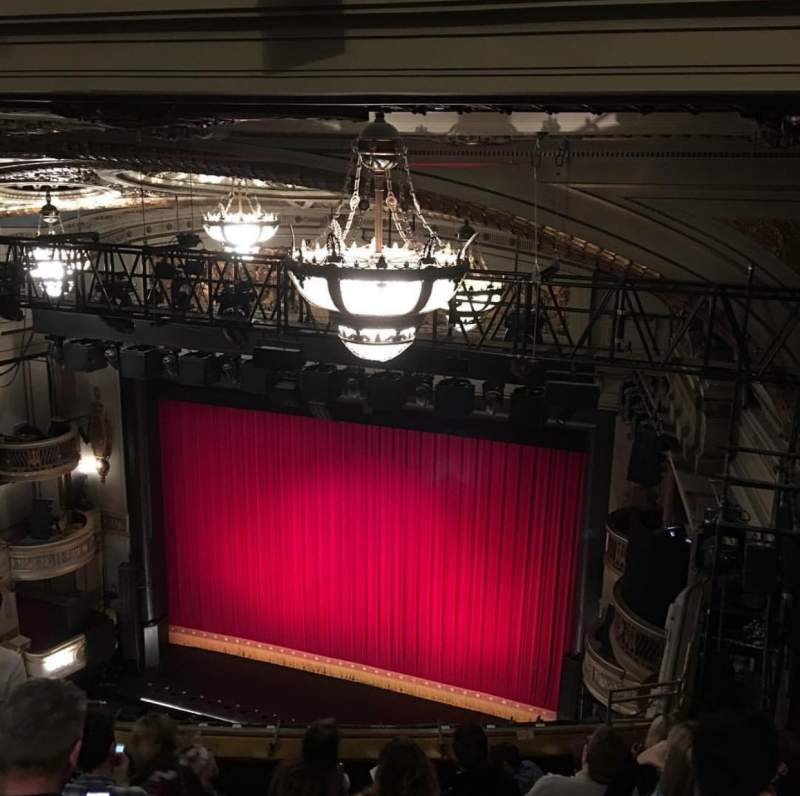 Seating view for Theatre Royal Drury Lane Section Balcony Row K Seat 3