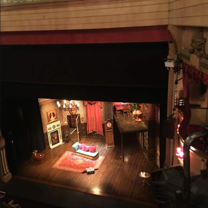 Seating view for Theatre Royal Brighton Section Gallery Row A Seat 28-29