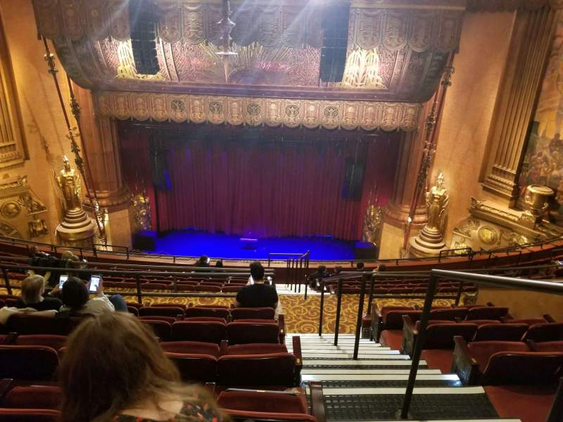 Seating view for Beacon Theatre Section Upper Balcony C Row L Seat 113