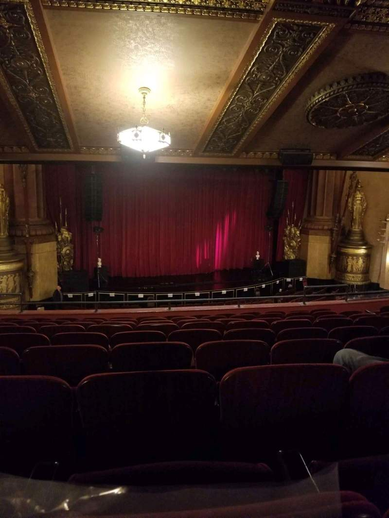 Seating view for Beacon Theatre Section Loge 1 Row J Seat 15