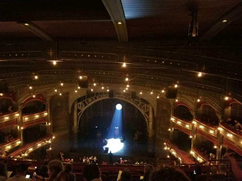 Seating view for Lyric Theatre Section Balcony C Row G Seat 117