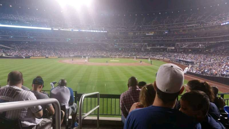 Seating view for Citi Field Section 134 Row 6 Seat 22