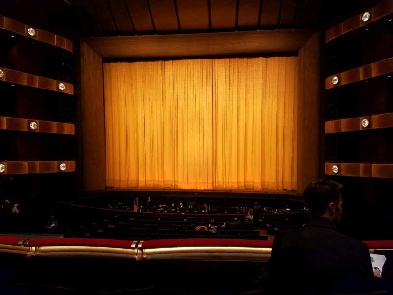 Seating view for David H. Koch Theater Section 1st Ring Row C Seat 113