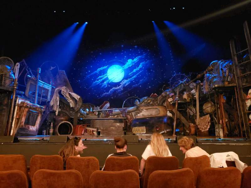 Seating view for Forrest Theatre Section orch Row D Seat 105