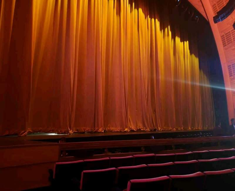 Seating view for Radio City Music Hall Section Orchestra 6 Row FF Seat 602