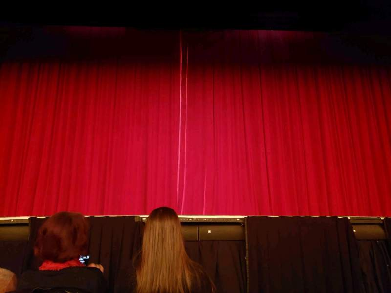 Seating view for Hulu Theater at Madison Square Garden Section 100 Row B Seat 10