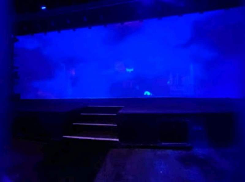 Seating view for Blue Man Group Theater Section 103 Row A Seat 1