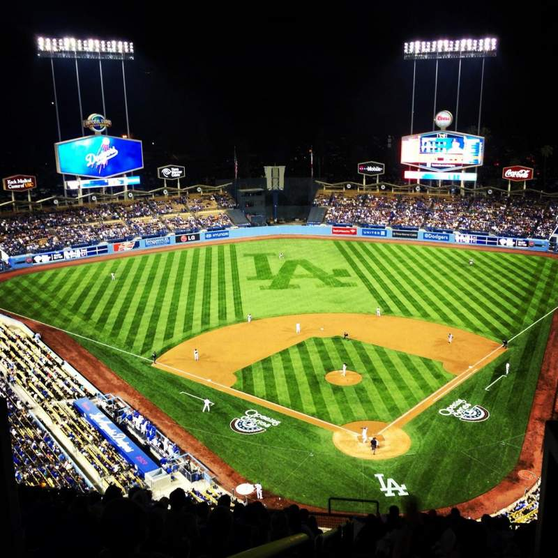 Dodger stadium, section Top Deck, row M, seat 5 - Los ...