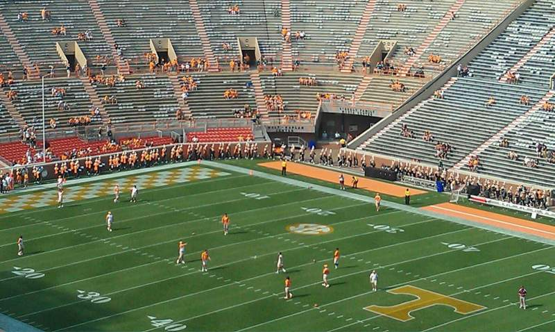 Seating view for Neyland Stadium Section qq Row 15 Seat 10