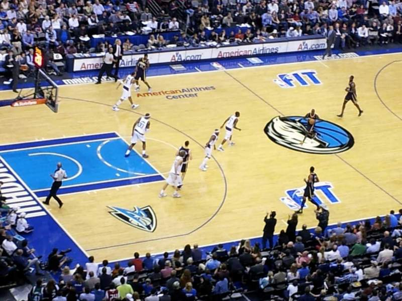 Seating view for American Airlines Center Section 313 Row G Seat 12