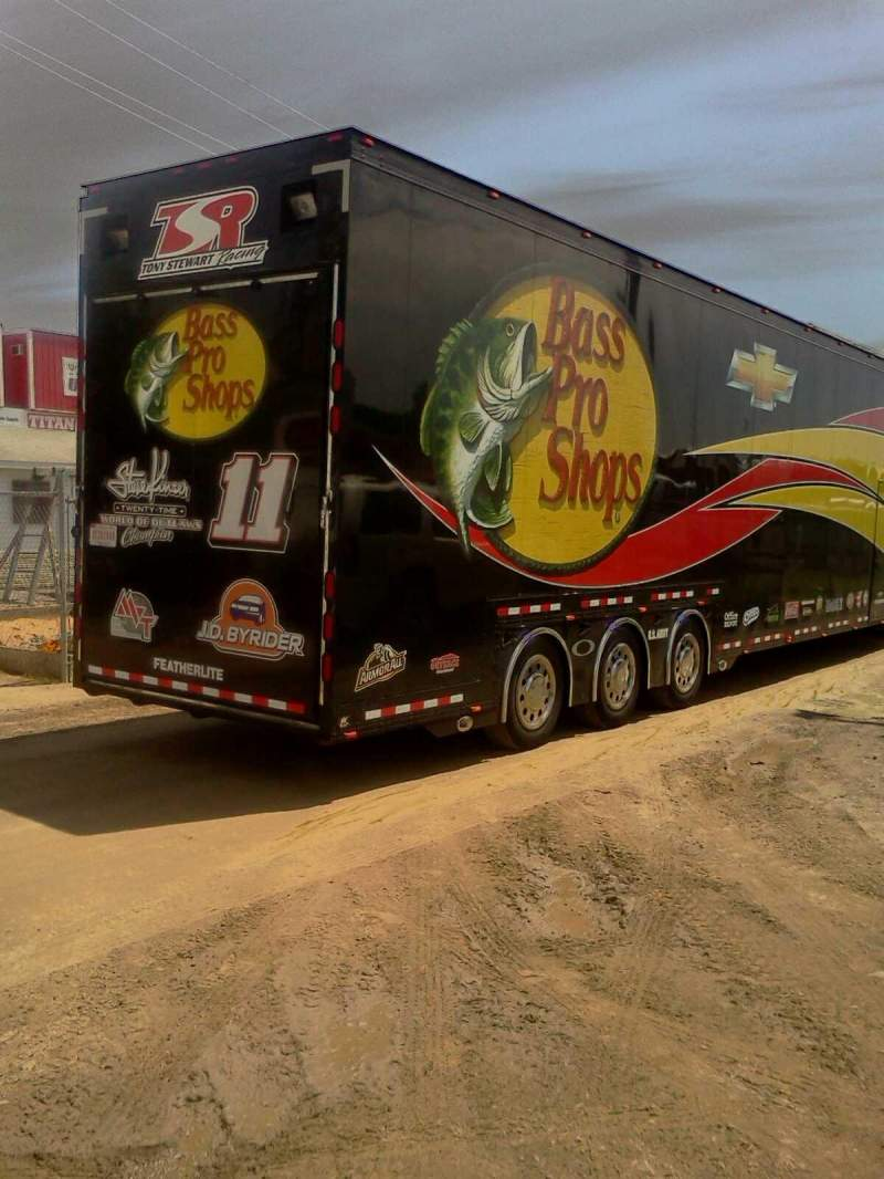 Seating view for Tony  Stewart  Rig Lp