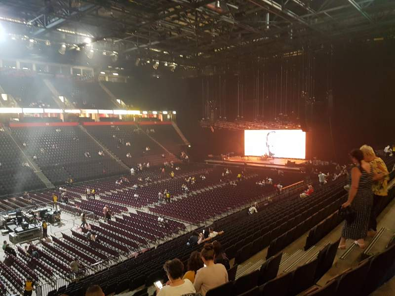 Seating view for Manchester Arena Section 112 Row X Seat 12